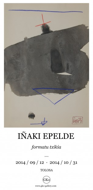 IÑAKI EPELDE / erakusketa  / Formatu Txikia